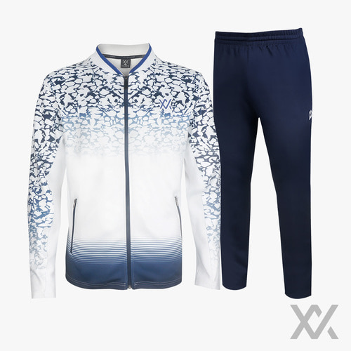 [MAXX] TRACK SUIT 10_White&Blue